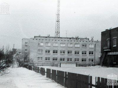 Здание скорой помощи. 1987 год. (НТГИА. Коллекция фотодокументов.Оп.1Н1.Д.370)