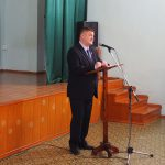 Д.Г. Летников, Глава Горноуральского городского округа, в момент приветственного слова участникам Муниципальных Рождественских Образовательных чтений
