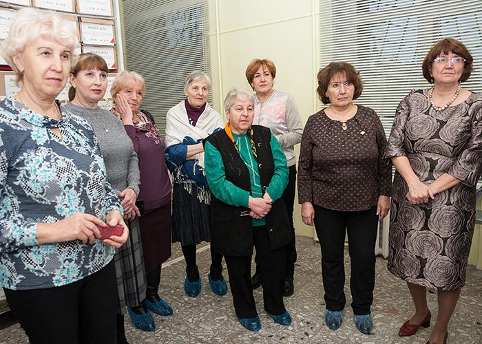 Ветераны архивной службы города Нижний Тагил