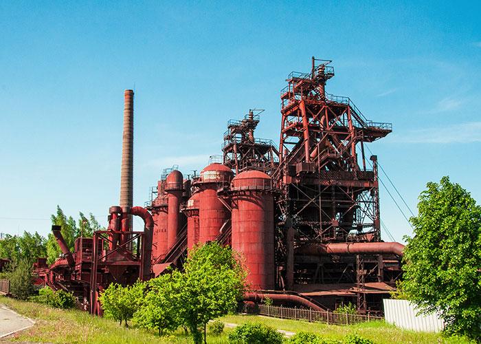 Эко-индустриальный технопарк «Старый Демидовский завод». 2019 год. Фото А.В. Моленковой