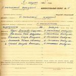 Протокол голосования Окружной избирательной комиссии по выборам в Нижнетагильский городской Совет депутатов трудящихся от 5 марта 1961 года. (НТГИА. Ф.70.Оп.2.Д.846.Л.31)