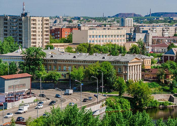 Здание Нижнетагильского городского исторического архива, 2019 год. Фото А.В. Моленковой